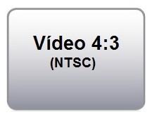 Formato de Projeção 4:3 Vídeo